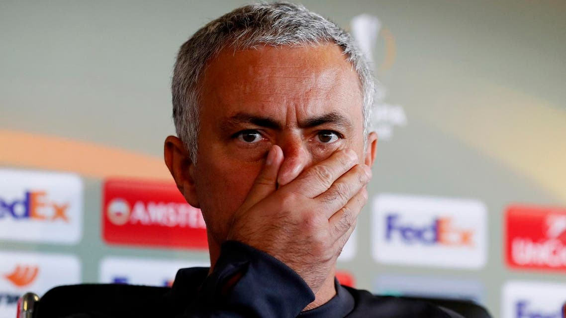 Mourinho said it would be 'difficult' for referee Anthony Taylor, who is from the Greater Manchester area, to have 'a very good performance'. (Reuters)