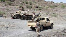 البیضاء میں یمنی فوج کی گولہ باری، حوثی ملیشیا کے متعدد ارکان ہلاک اور زخمی