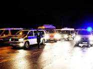 """""""يميني"""" مسلح يصيب 4 رجال شرطة في جنوب ألمانيا"""