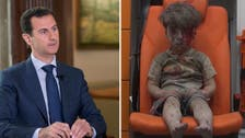 Bashar al-Assad in denial: 'Photo of Omran Daqneesh was forged'