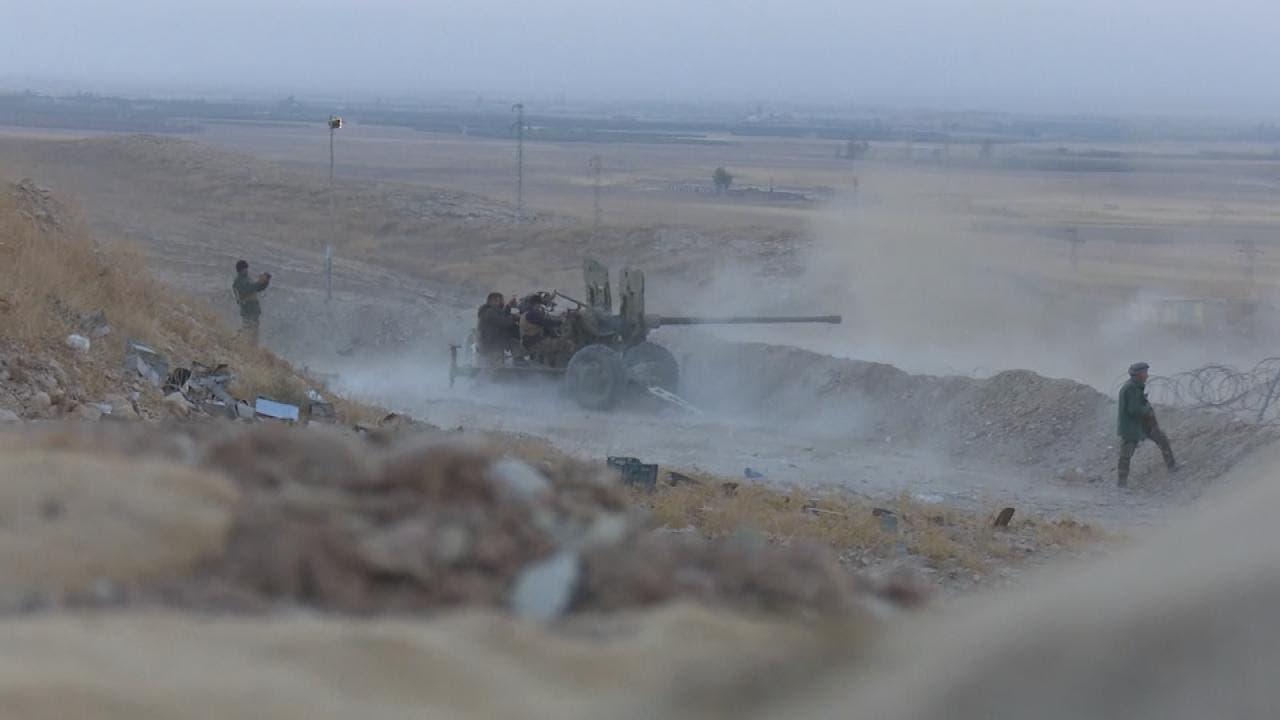 پیشروی نیروهای ارتش عراق به سوی موصل