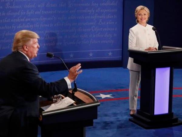 بالصور.. كواليس المناظرة الثالثة بين كلينتون وترامب