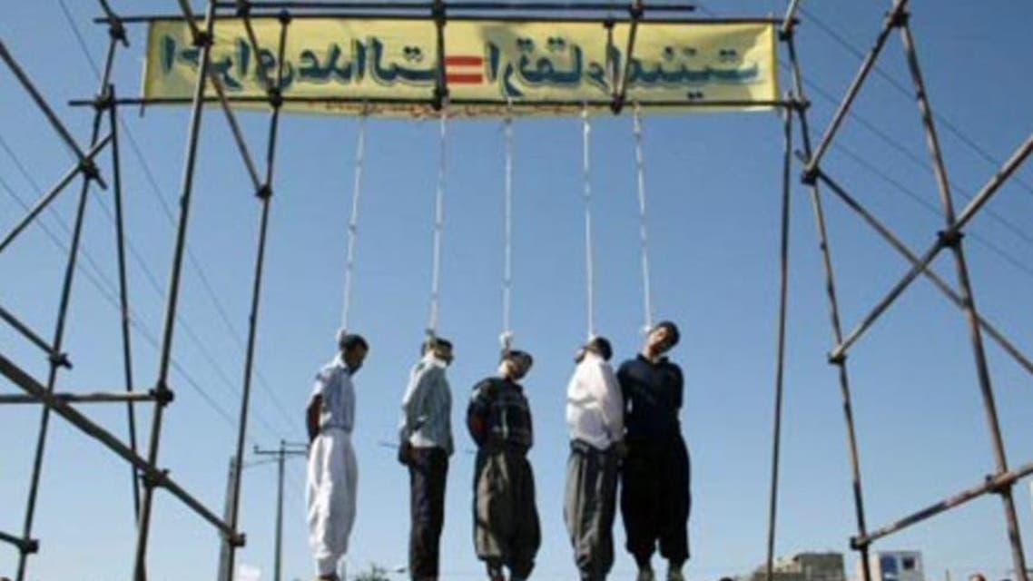 اعدامات ايران أرشيفية