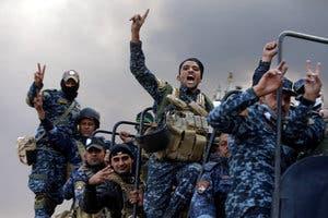 نیروهای عراقی در القیاره