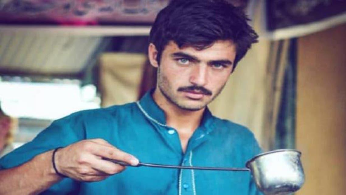 Chai Wala Arshad Khan: The Pakistani tea seller who became a model  Credit: Jiah_Ali / Instagram