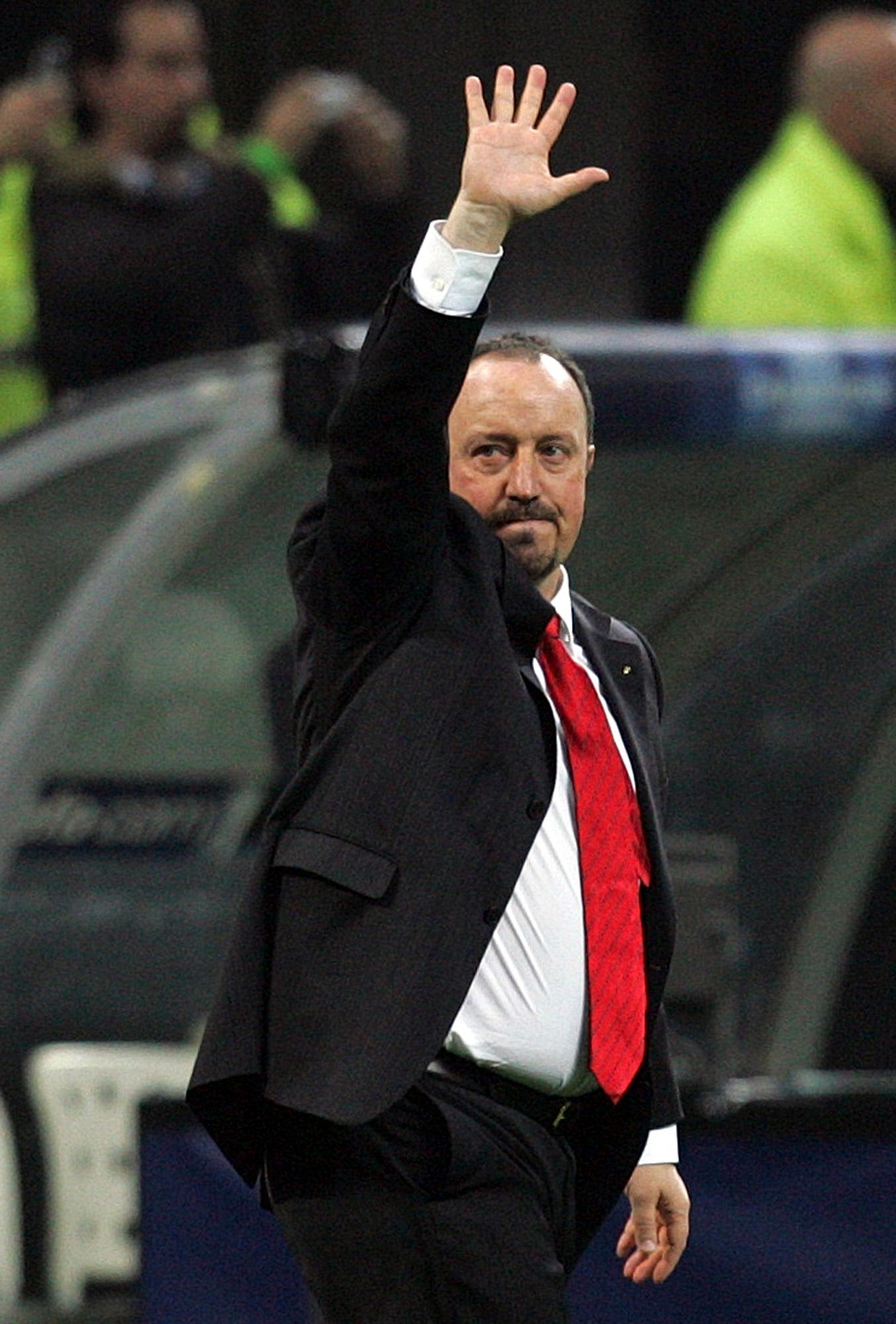 enitez, hired seven months ago, has been under pressure since a demoralising 4-0 home loss to Barcelona in November. The team won seven of nine matches since the defeat at the Bernabeu, but fans continued to call for Benitez's departure. (AP)