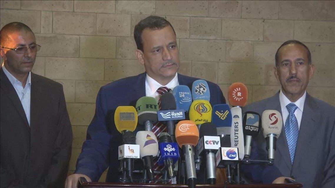 THUMBNAIL_ ماذا تحمل زيارة ولد الشيخ لصنعاء حول الهدنة المخترقة