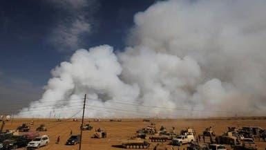العراق.. السيطرة على حريق معمل الكبريت جنوب الموصل