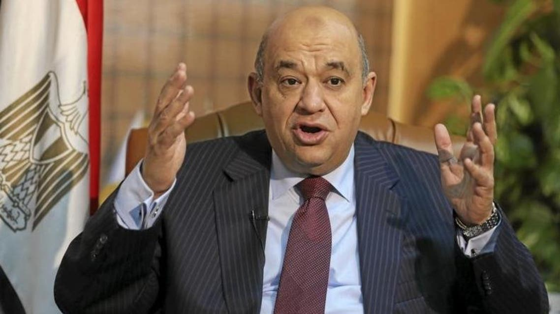 Egyptian Tourism Minister Yahya Rashid speaks in an interview with Reuters at his office in Cairo on April 7, 2016. (Reuters)