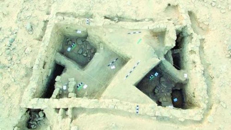 The facility is made up of an archeological hill with 5 meters longitude (Al Arabiya File)