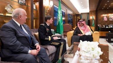 الرياض.. ولي العهد يستقبل قائد القيادة الوسطى الأميركية