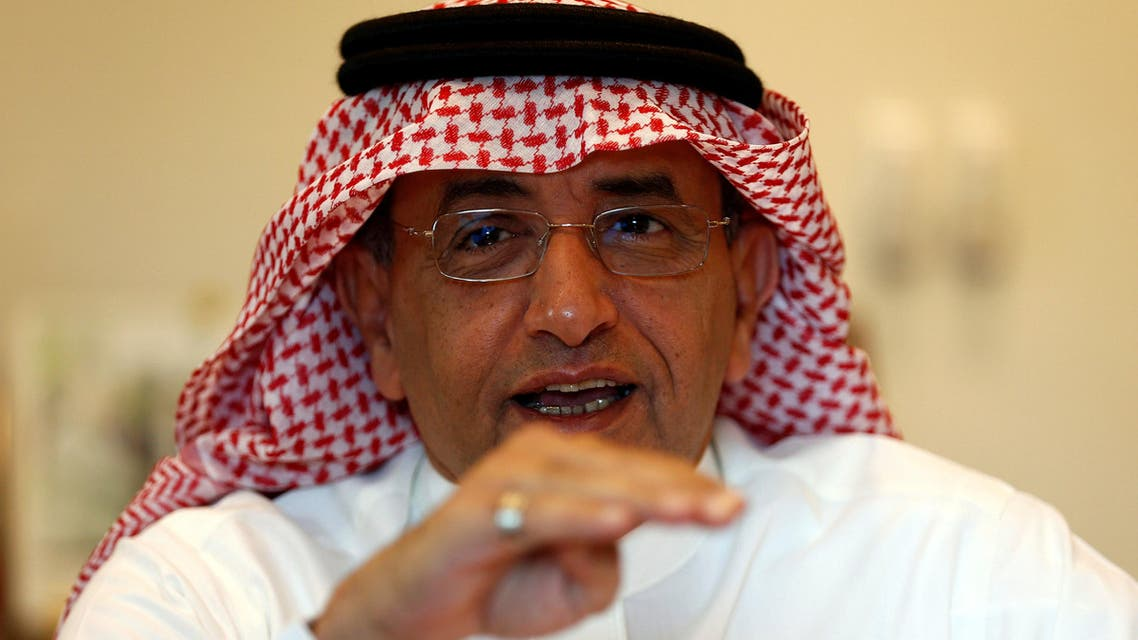 Muhammad al-Agil, chairman of Jarir Marketing Co., gestures during an interview with Reuters in Riyadh, Saudi Arabia October 23, 2016. REUTERS