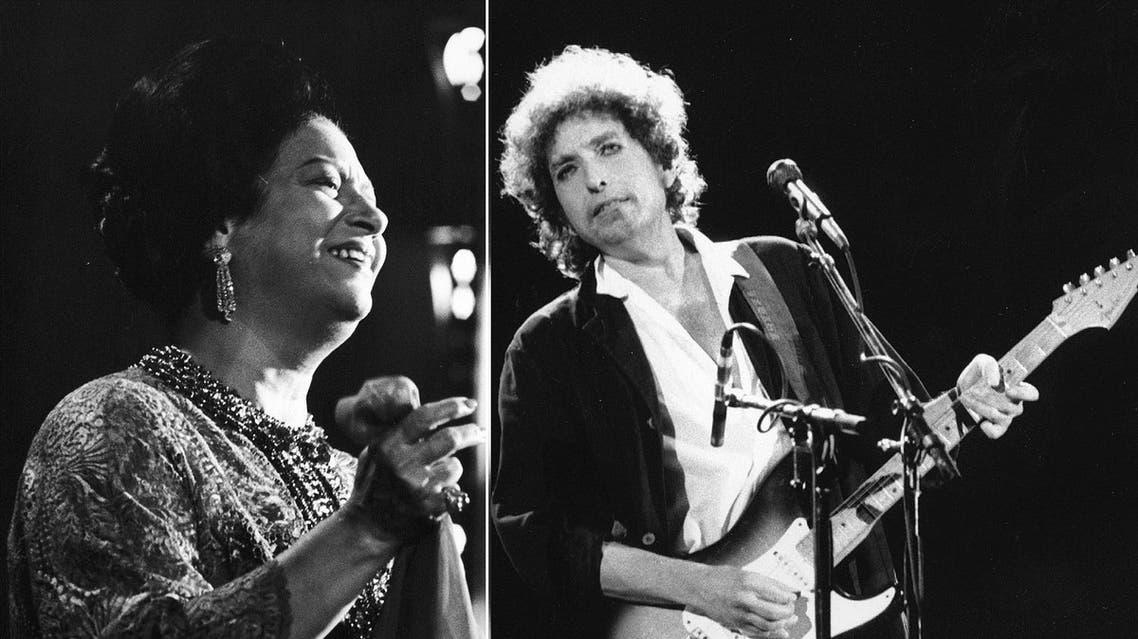 Bob Dylan umm kulthum AP