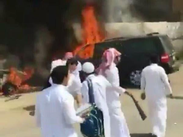 هذه تفاصيل حرق طلاب سيارة مدير مدرسة بجدة