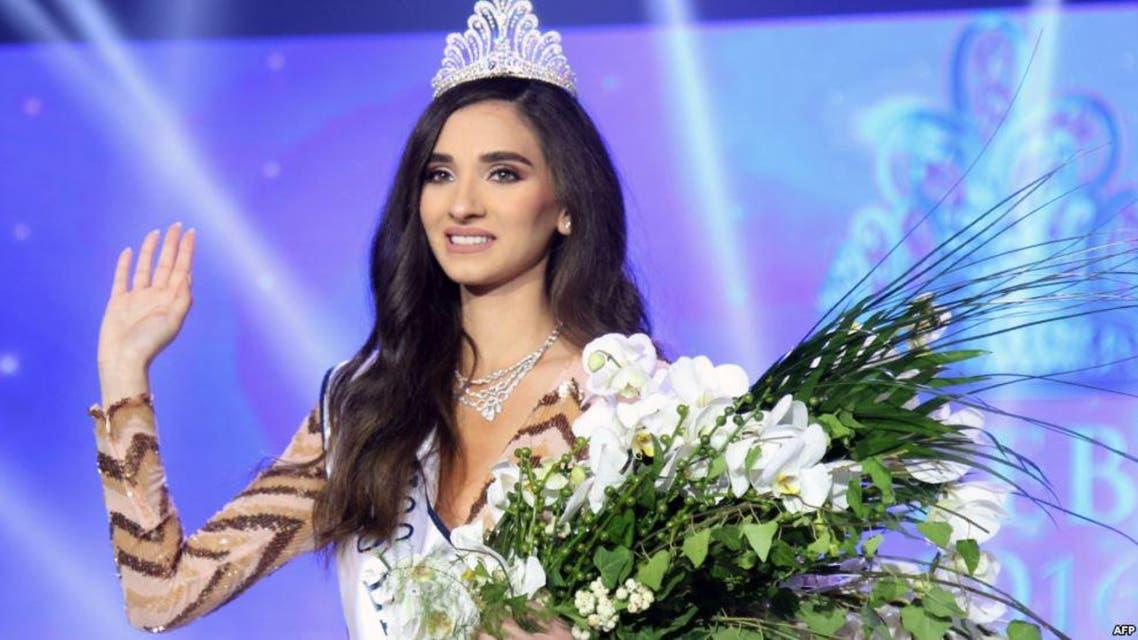 ملكة جمال لبنان للعام 2016 ساندي تابت