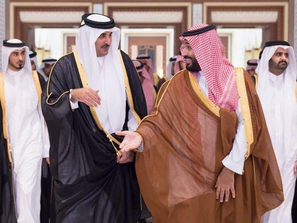 ولي ولي العهد السعودي يعزي أمير قطر بوفاة الشيخ خليفة