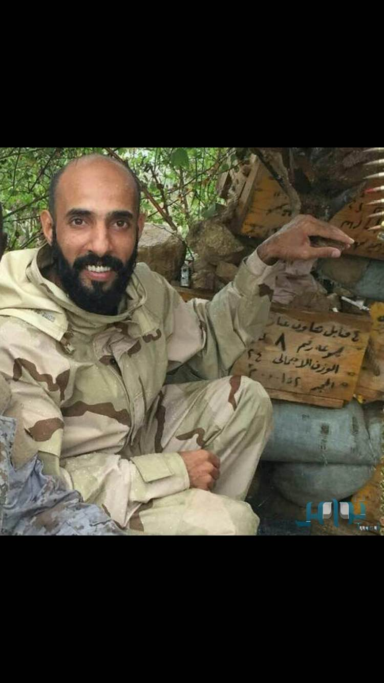 The story of a Saudi captain lost a leg in a mine field