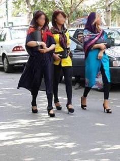 بالصور.. إيران تمنع المعاطف النسائية من دون أزرار