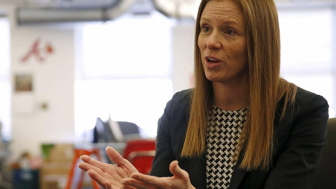 Monika Bickert, Facebook's head of global policy management, is interviewed by Reuters in Washington DC. (File photo: Reuters)