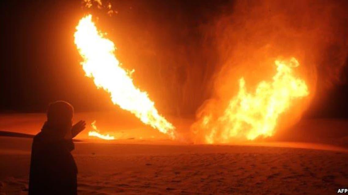 انفجار لوله نفت ایران به ترکیه