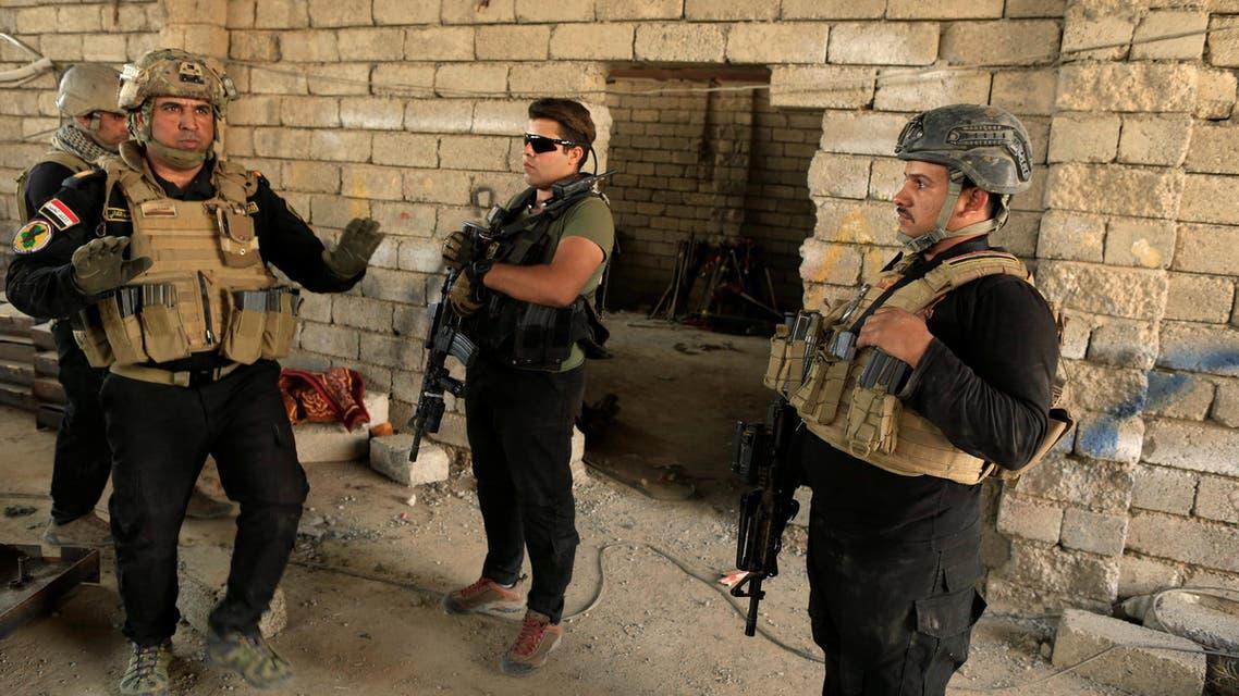 القوات العراقية في شرق الموصل