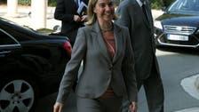 EU's Mogherini to visit Tehran, Riyadh for Syria talks