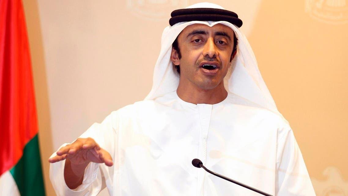 Abdullah bin Zayed Reuters