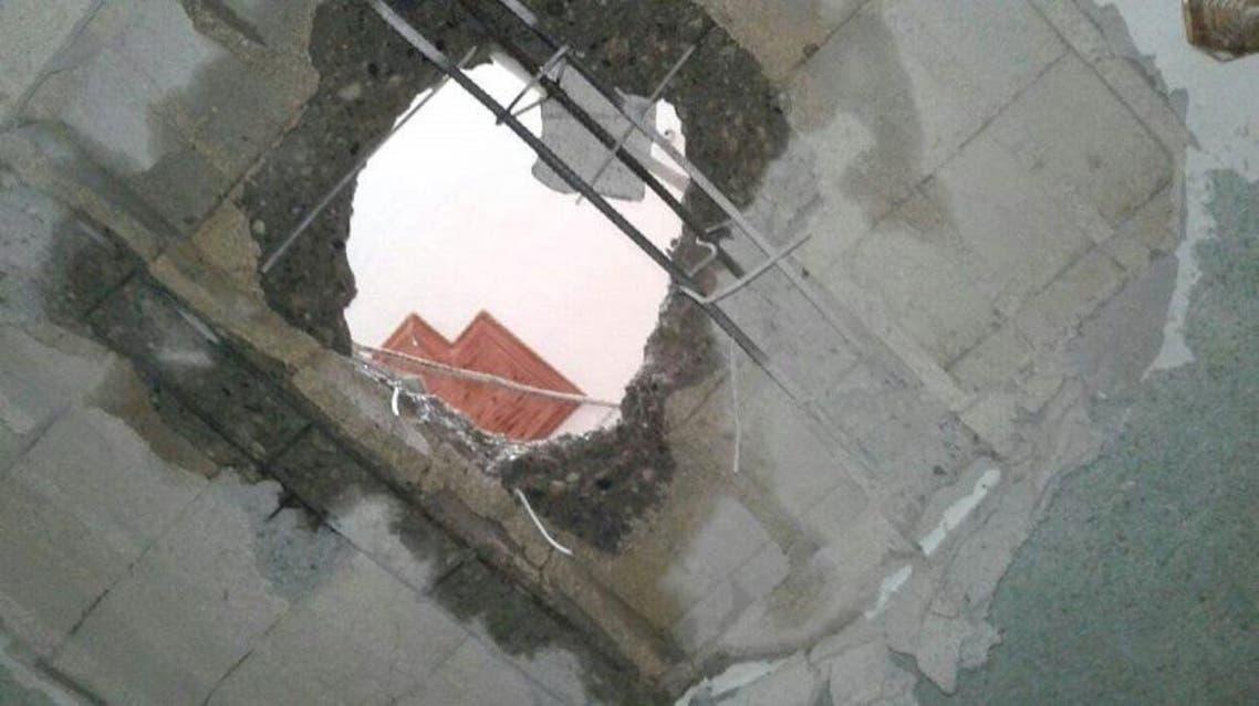 سقوط صواريخ على حميميم
