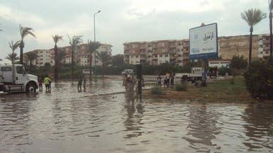 مصر..استمرار السيول على مدن البحر الأحمر وإعلان الطوارئ