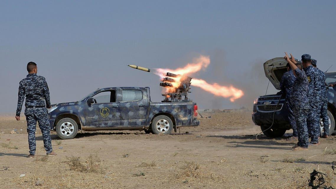 القوات العراقية المشتركة قرب الموصل 3