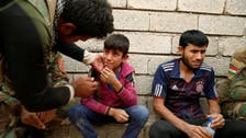 Iraqi villagers escape ISIS snipers, leave family behind