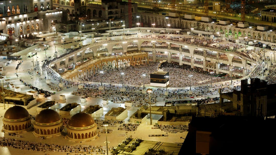 General view of the Kaaba at the Grand Mosque in Mecca, Saudi Arabia September 9, 2016. REUTERS