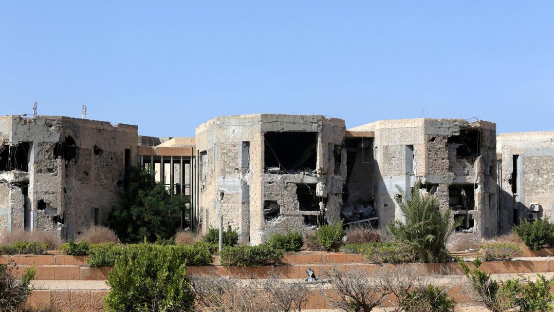 من الدمار في بنغازي (أرشيفية)