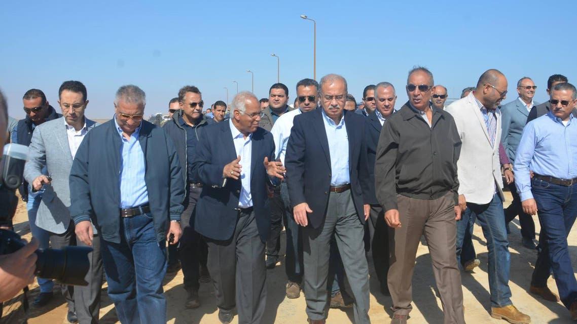 شريف إسماعيل رئيس وزراء مصر