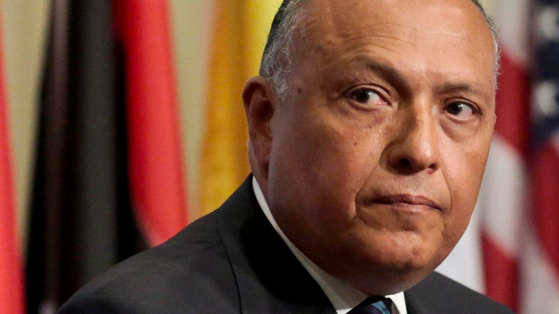 Egypt's Foreign Minister Sameh Shoukry AP