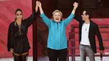 Clinton gets Jennifer Lopez boost in Miami