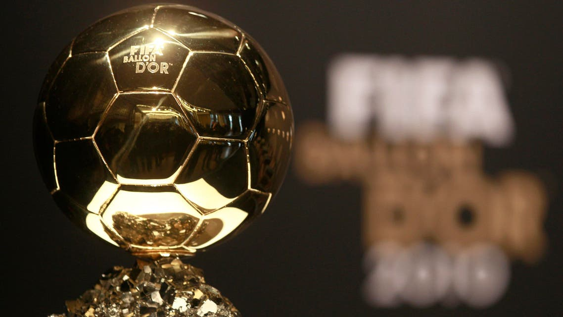 The FIFA Ballon d'Or cup for the world's best player of the year is shown at the FIFA Ballon d'Or awarding ceremony in Zurich, Switzerland, Monday, Jan. 10, 2011. (AP