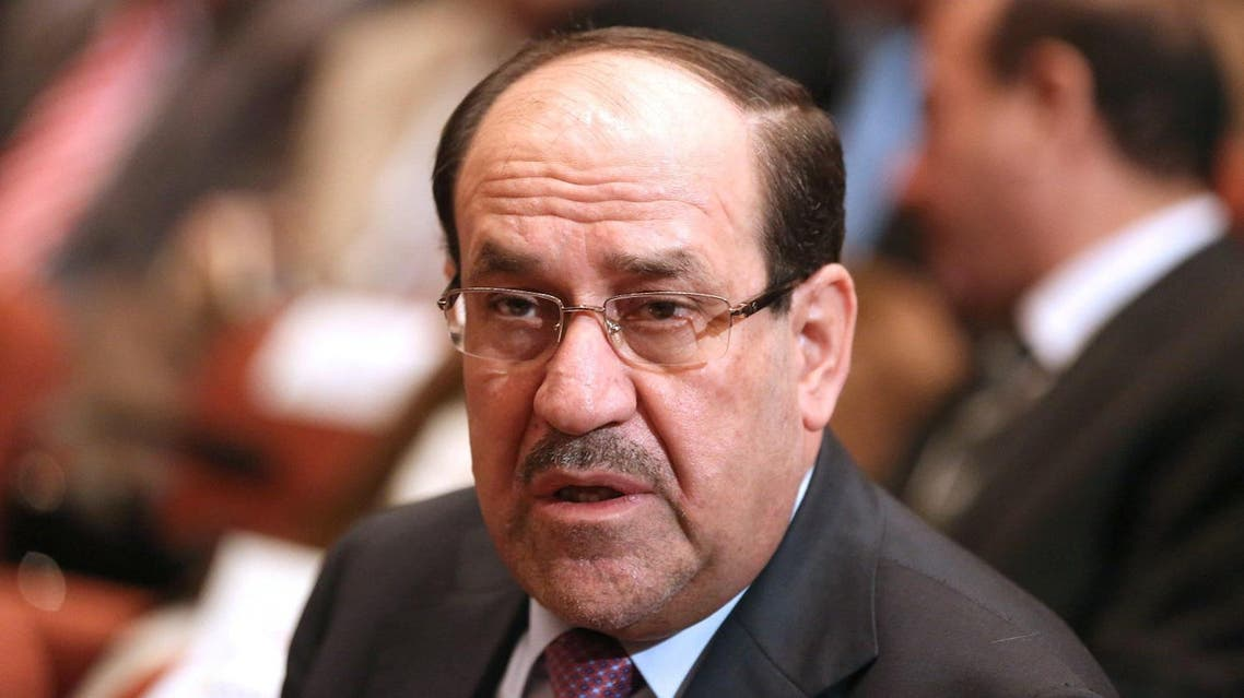 Iraq's former leader Nouri al-Maliki is accused of promoting a divisive ideology seemingly led by Iran. (File photo: AFP)