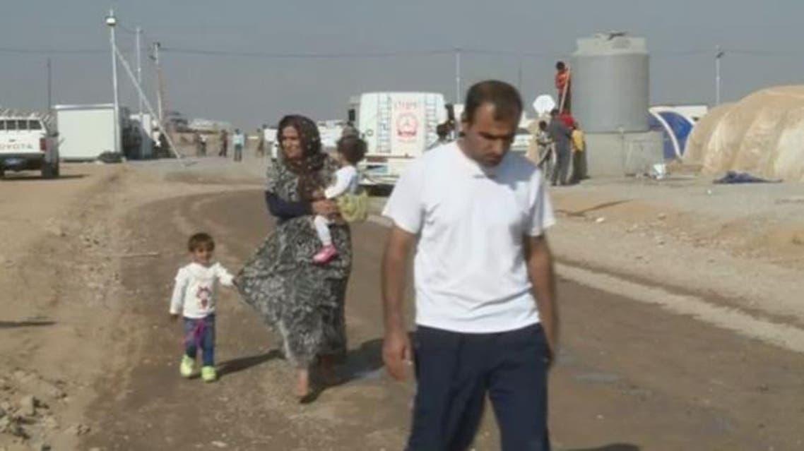 نازحون في العراق