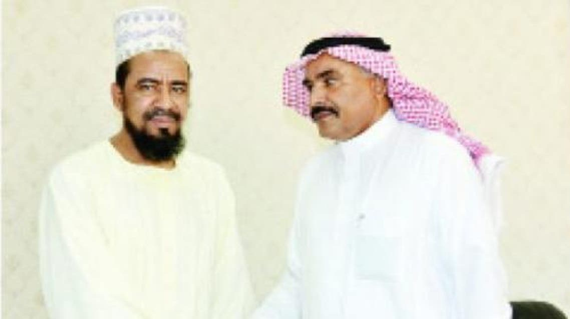 Picture shows Al-Ghali on the left and Al-Ghamdi on the right. — Courtesy photo