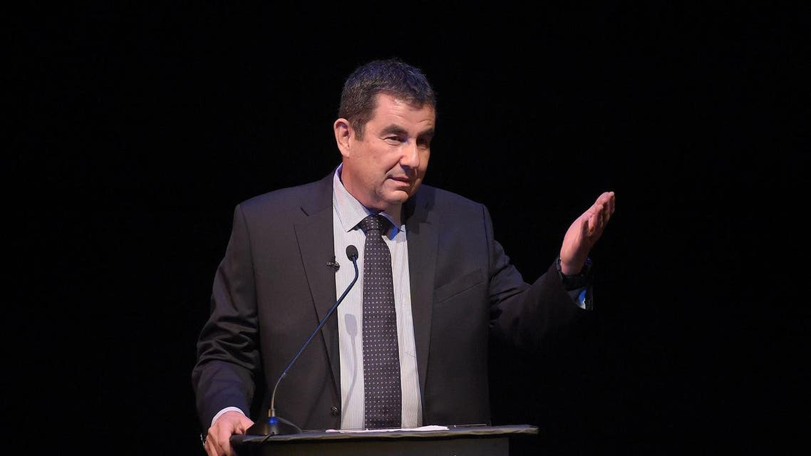 BEVERLY HILLS, CA - MAY 05: Author Ari Shavit attends the UCLA Younes & Soraya Nazarian Center For Israel Studies 5th Annual Gala at Wallis Annenberg Center for the Performing Arts on May 5, 2015 in Beverly Hills, California. Jason Kempin/Getty Images/AFP  Jason Kempin / GETTY IMAGES NORTH AMERICA / AFP