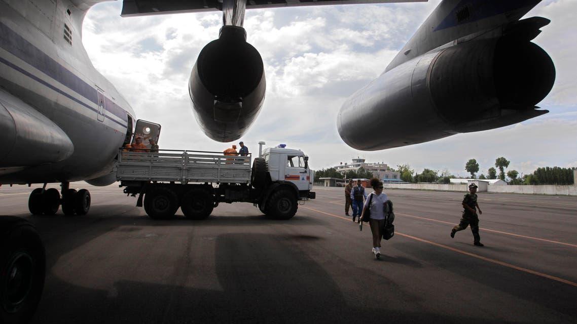 Kyrgyzstan airport AP