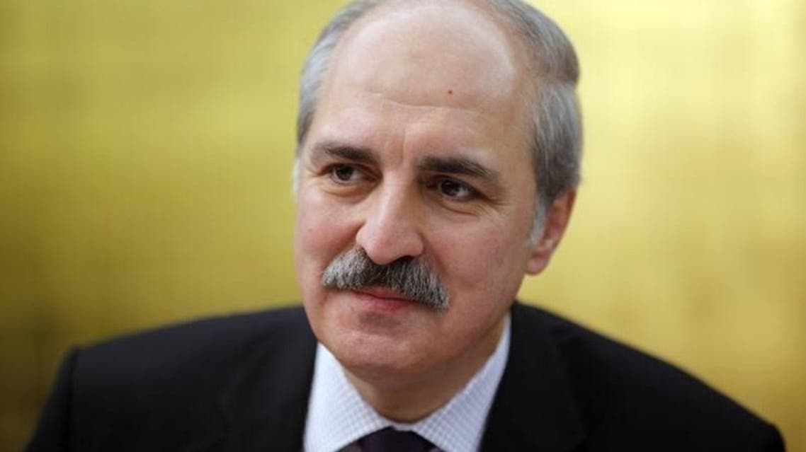 Turkish Deputy Prime Minister Numan Kurtulmus said a military build-up on the border with Iraq was a precaution. Reuters