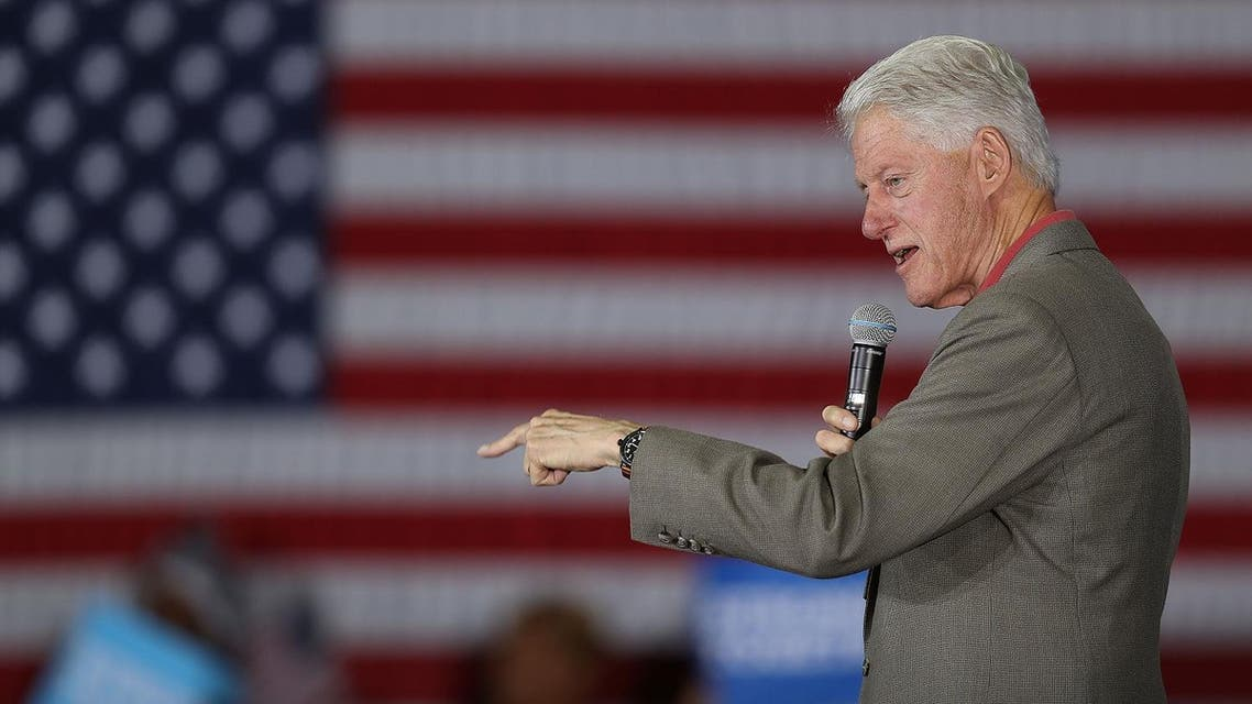 afpFLORIDA CITY, FL - NOVEMBER 01: Fromer president Bill Clinton speaks during a rally at the Florida City Youth Activity Center