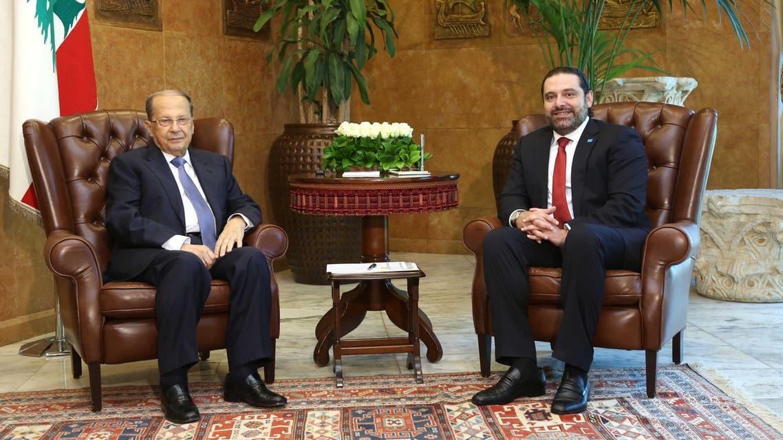 لبنان عون الحريري