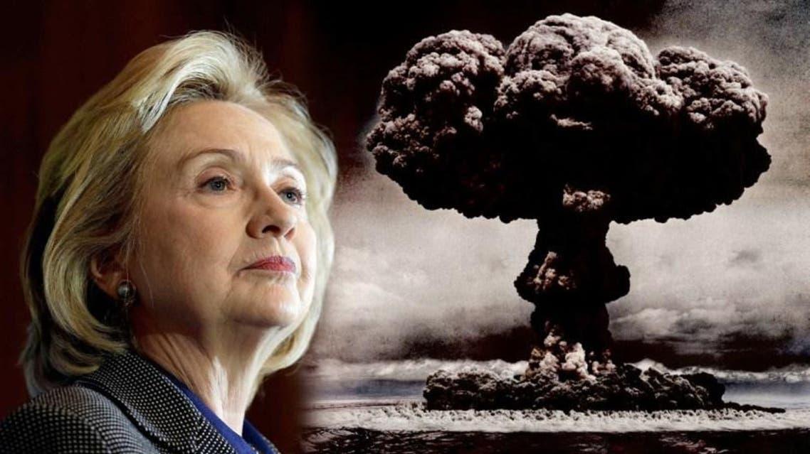 كلينتون تثير مخاوف الأميركيين من ترامب والحرب النووية