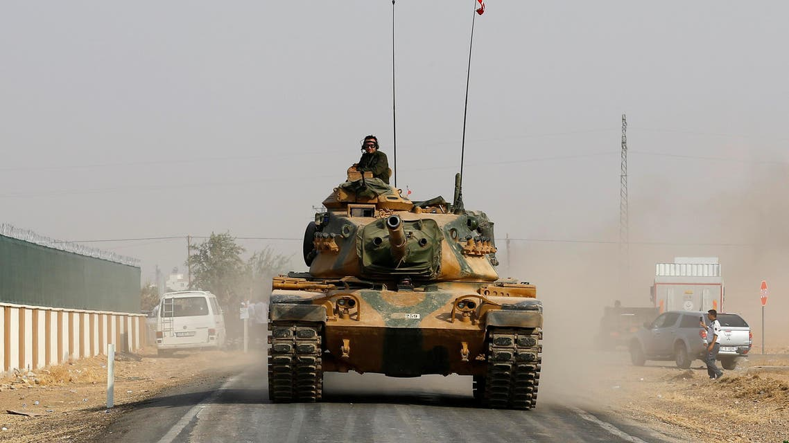 Turkish military sources said Tuesday that it had deployed tanks and artillery to southeastern districts near the Iraqi border. (Reuters)