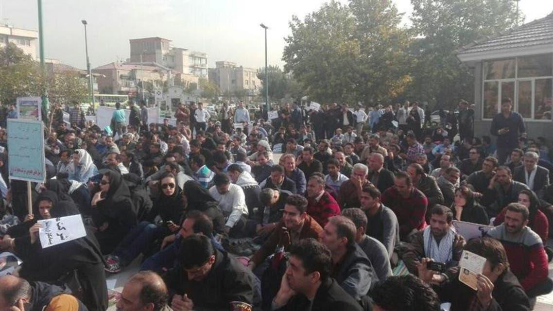 ايران احتجاجات