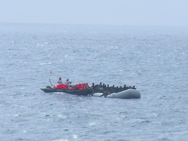 وفاة 20 مهاجراً غرقاً في البحر المتوسط