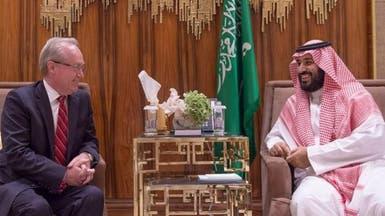 الأمير محمد بن سلمان يبحث توطين صناعات مع رئيس ريثيون
